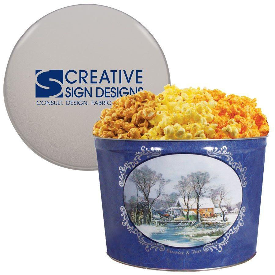 Popcorn Tin