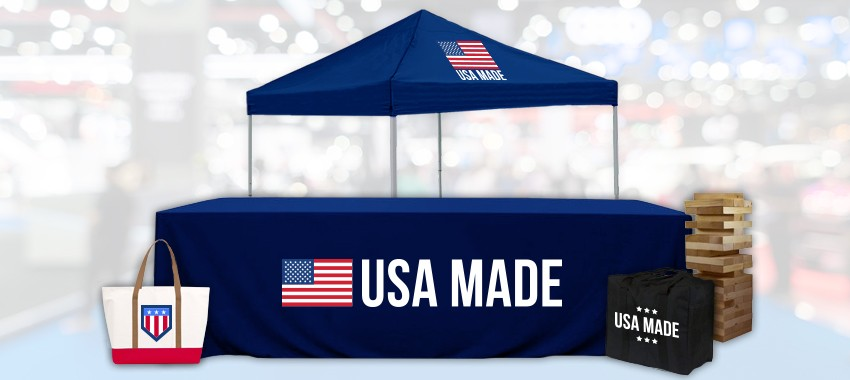 6 Tradeshow Staples That are Made in the USA
